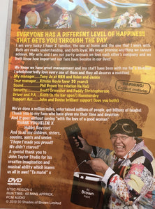 Roy Chubby Brown 50 Shades of Brown DVD (18) - The Celebrity Gift Company