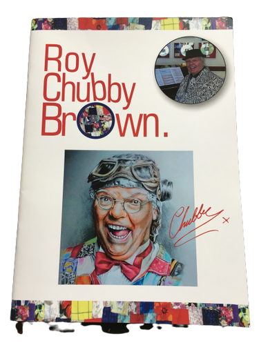 Roy Chubby Brown A4 Brochure/Book - An insight into Roy's Life (New Publication) - The Celebrity Gift Company