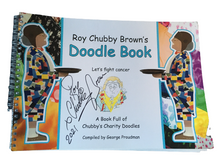 Cargar imagen en el visor de la galería, Roy Chubby Brown's Doodle Book: A Book Full of Chubby's Charity Doodles - Signed version available - The Celebrity Gift Company