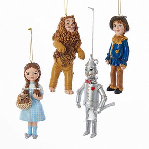 Wonderful Wizard Of Oz 5-Inch Ornament Resin Set - The Celebrity Gift Company