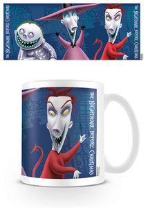 Nightmare Before Christmas Mug (Lock Shock Barrel) - The Celebrity Gift Company
