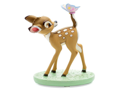 Disney Magical Moments Figurine - Bambi with Butterfly - The Celebrity Gift Company
