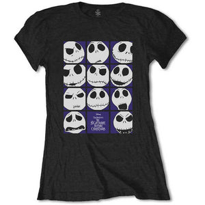 Nightmare Before Christmas Ladies T-shirt - Blockheads - The Celebrity Gift Company