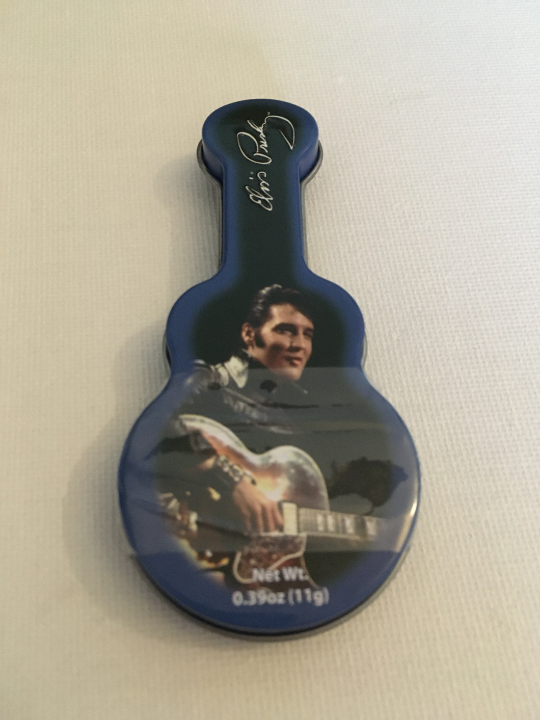 Elvis Presley Mints in Guitar Tin - The Celebrity Gift Company