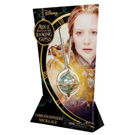 Alice in Wonderland Chronosphere Necklace - The Celebrity Gift Company