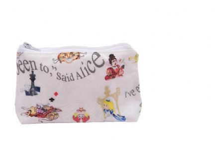 Alice in Wonderland Make-Up Bag by  The Celebrity Gift Company