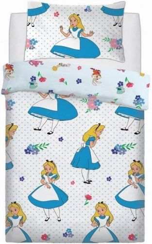Alice in Wonderland Single Duvet Cover Set - The Celebrity Gift Company