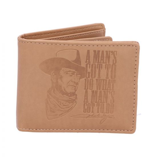 John Wayne Wallet 'A Mans Got To Do What A Mans Got To Do' - The Celebrity Gift Company