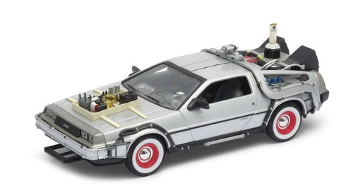 Die Cast Back To The Future 3 Delorean Time Machine - The Celebrity Gift Company