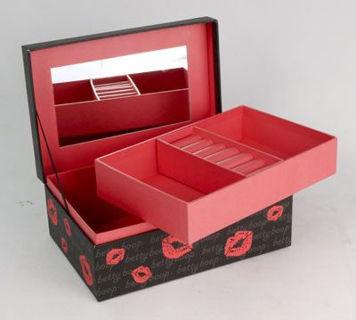 Betty Boop Jewellery Box - The Celebrity Gift Company