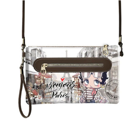 Betty Boop Small Clutch/Handbag, Paris - The Celebrity Gift Company