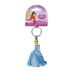 Disney Cinderella Soft Touch Keyring Keychain - The Celebrity Gift Company