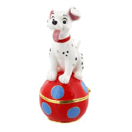 Disney Classic Trinket Box - Dalmatian Puppy, Jewellery Cleaning & Care by The Celebrity Gift Company