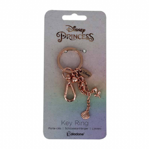 Disney Princess Charm Metal Keychain - The Celebrity Gift Company