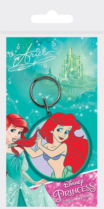 Disney Princess Rubber Keychain Ariel 6 cm - The Celebrity Gift Company