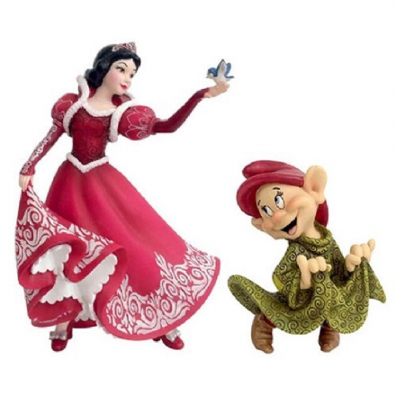 Disney Showcase Snow White and Dopey 80th Anniversary Figurine by  The Celebrity Gift Company