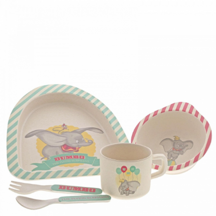 Dumbo Bamboo Dinner Set - The Celebrity Gift Company