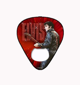 Elvis Bottle Opener Magnet Guitar Pick '68 - The Celebrity Gift Company