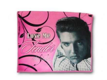 Elvis Presley Kitchen Tea Towel Love Me Tender - The Celebrity Gift Company