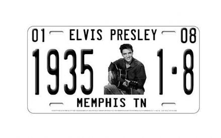 Elvis Presley License Plate Memphis 1935 - The Celebrity Gift Company