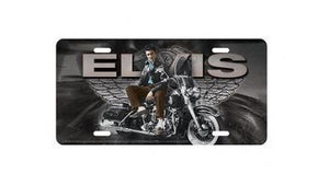 Elvis Presley License Plate Motorcycle - The Celebrity Gift Company