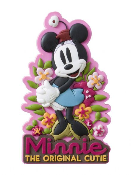 Minnie Mouse Retro Laser Cut Magnet - The Celebrity Gift Company