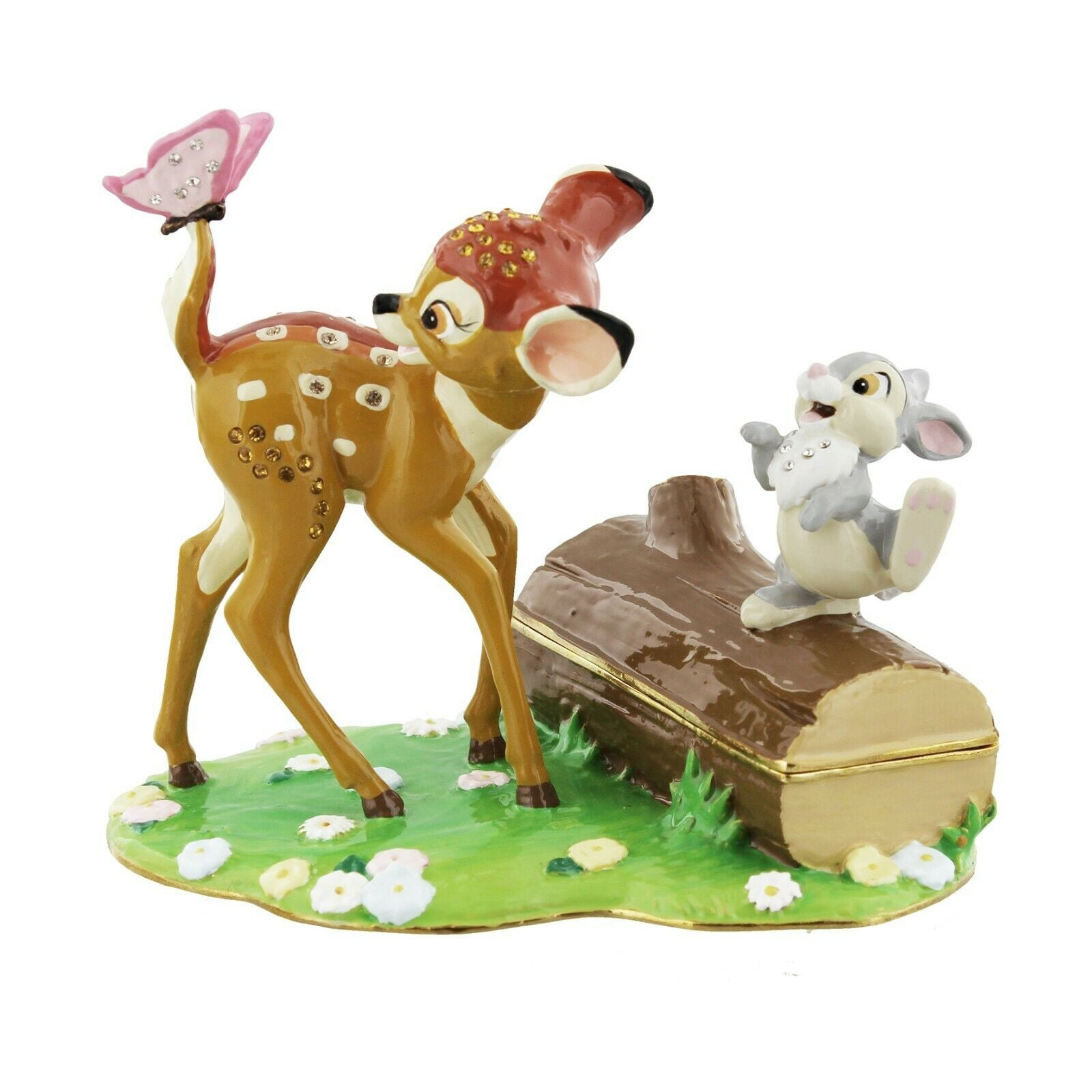 Bambi & Friends Disney Classic Trinket Box, Jewellery Cleaning & Care by The Celebrity Gift Company