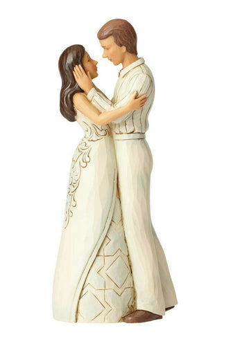 Jim Shore Heartwood Creek Couple Embracing Figurine - The Celebrity Gift Company