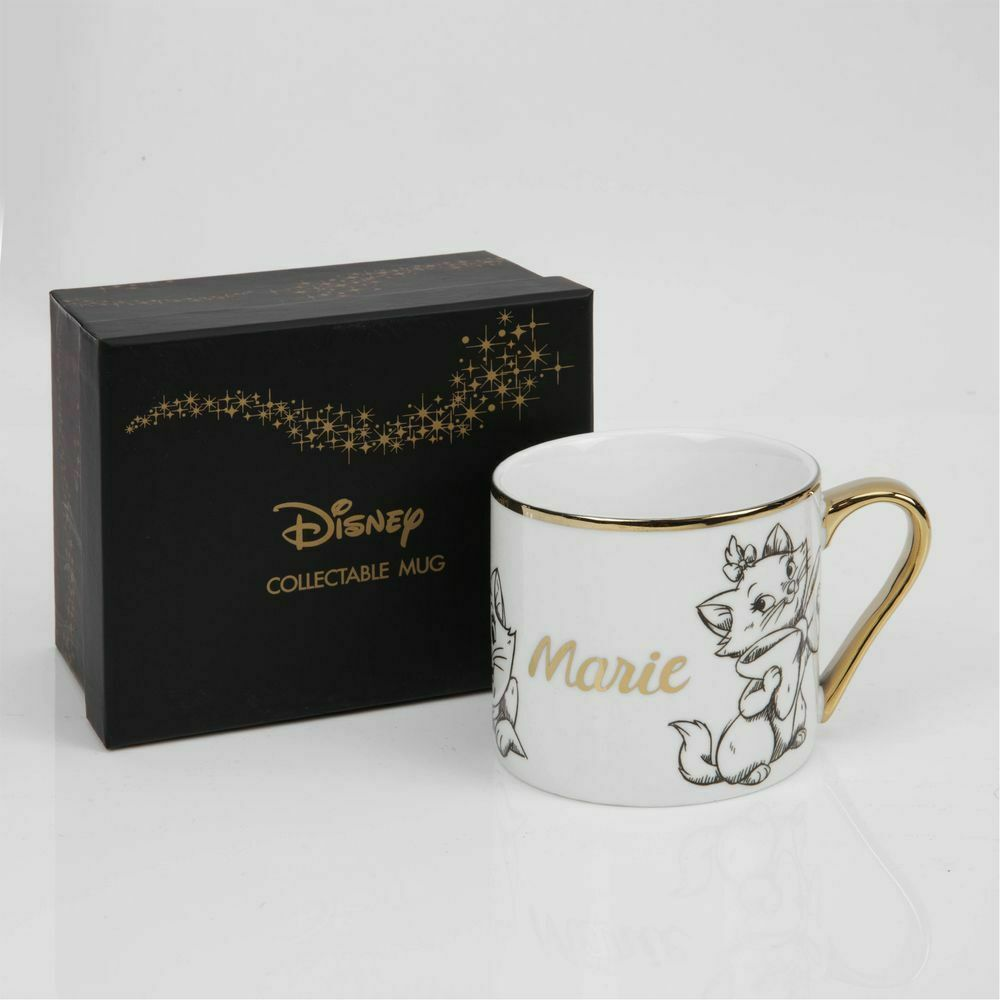 Disney Classic Collectable Marie Coffee Mug Gift Boxed, Kitchen & Dining by The Celebrity Gift Company
