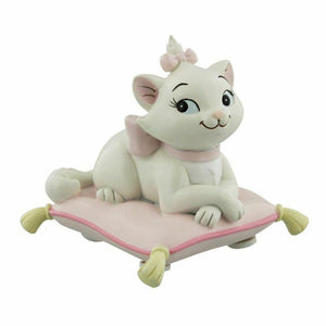 Disney Marie on Cushion Little Princess from the Aristocats - The Celebrity Gift Company