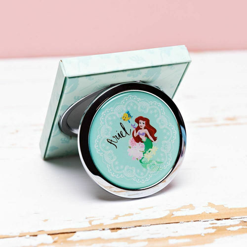 Disney Little Mermaid Ariel Compact Mirror - The Celebrity Gift Company