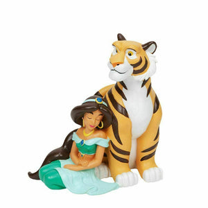 DISNEY MAGICAL MOMENTS FIGURINE - JASMINE & RAJAH - The Celebrity Gift Company