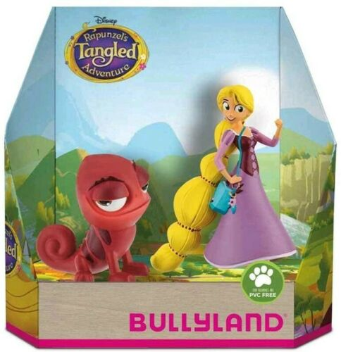 Bullyland Disney Tangled Rapunzel & Red Pascal Figurines - The Celebrity Gift Company