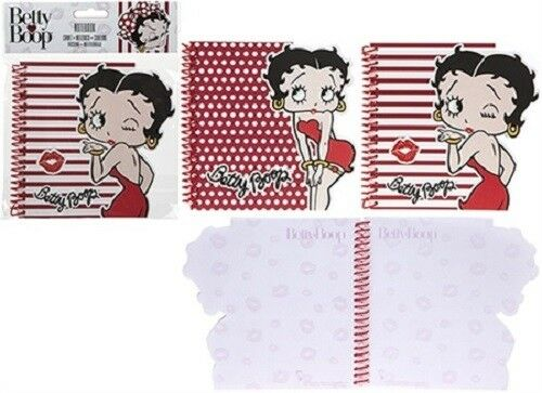 Betty Boop Hard Back Note Book - The Celebrity Gift Company