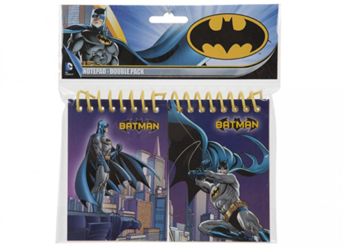 DC Comics, Set of 2 Small A7 Batman Notebooks - The Celebrity Gift Company