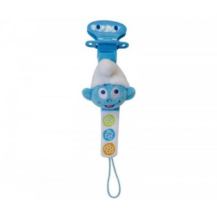 Smurfs Plush Pacifier Dummy Holder 22cm - The Celebrity Gift Company