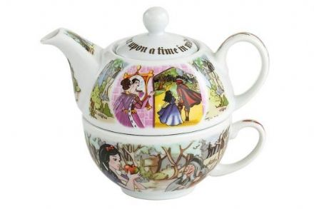 Snow White tea for one Cup and Teapot - The Celebrity Gift Company