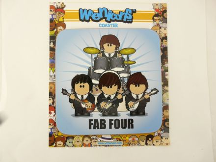 The Beatles Fab Four Coaster - The Celebrity Gift Company