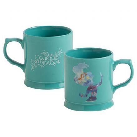 The Little Mermaid Courage 12 oz. Refined Ceramic Mug, Kitchen & Dining by The Celebrity Gift Company
