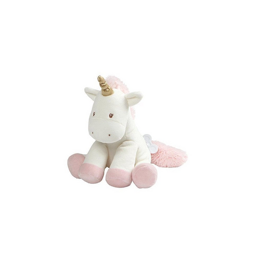 Gund  Luna Unicorn Keywind Plush Soft Toy - The Celebrity Gift Company
