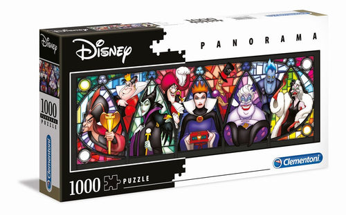 Disney Villains Jigsaw Puzzle (1000 pieces) - The Celebrity Gift Company