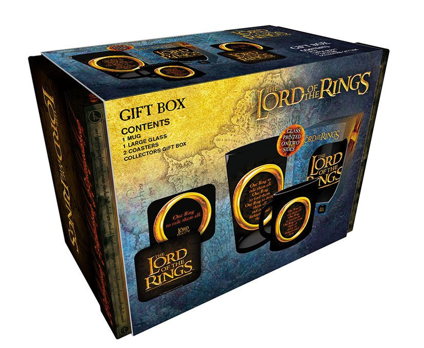 Lord of the Rings Gift Box One Ring by  The Celebrity Gift Company