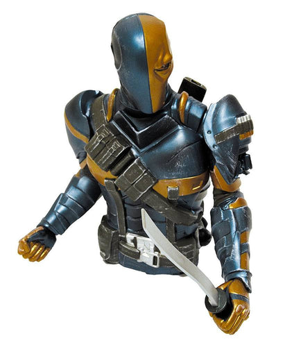 Batman Arkham Origins Bust Bank Deathstroke Previews Exclusive 15 cm - The Celebrity Gift Company