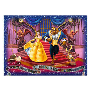 Disney Collector´s Edition Jigsaw Puzzle Beauty and the Beast (1000 pieces) - The Celebrity Gift Company