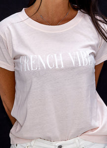 Tee shirt French vibes