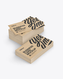 Kraft Paper Business Cards at Paddle Print