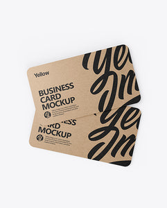 Kraft Paper Business Cards (Standard)