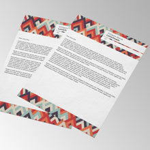 Load image into Gallery viewer, Letterhead Printing Paddle Print