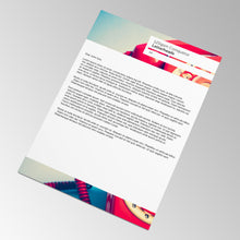 Load image into Gallery viewer, A4 Letterheads Paddle Pring