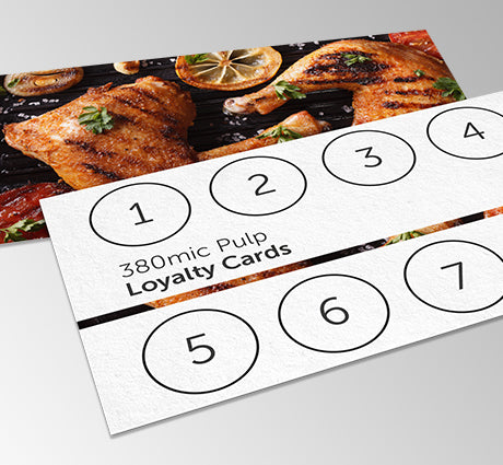Pulp Loyalty Cards from Paddle Print
